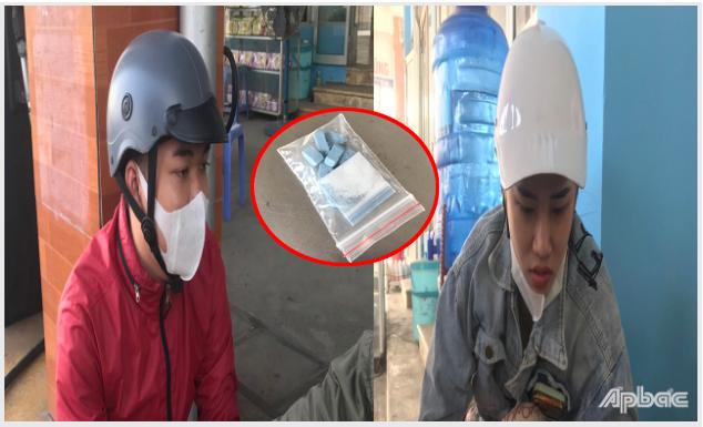 Tiền Giang: Bắt đôi nam nữ tàng trữ trái phép chất ma túy
