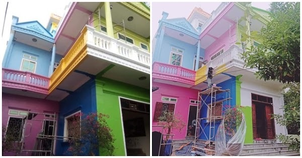 Xây được căn nhà thì '5 người 10 ý': Ai thích màu nào sơn màu đó, để không phải cãi nhau