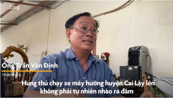Nhân chứng vụ án mạng ở Cai Lậy: 'Tôi không nghĩ là đâm nhầm'