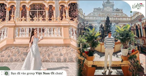 Vĩnh Tràng – ngôi chùa 170 năm tuổi có kiến trúc độc đáo ở Tiền Giang