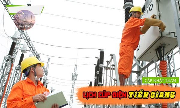 Lịch cúp điện Tiền Giang tuần này từ thứ 2 (12/4) đến Chủ nhật (18/4): Dự kiến một số nơi ở tỉnh Tiền Giang sẽ bị cúp điện