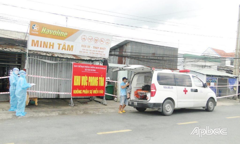 Vượt qua TP. Mỹ Tho, huyện Châu Thành trở thành điểm nóng nhất về dịch Covid-19 của Tiền Giang
